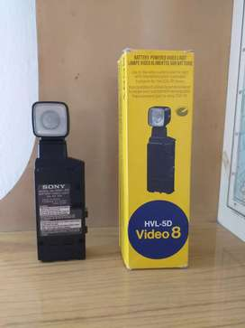 Flash Sony Video Cámara