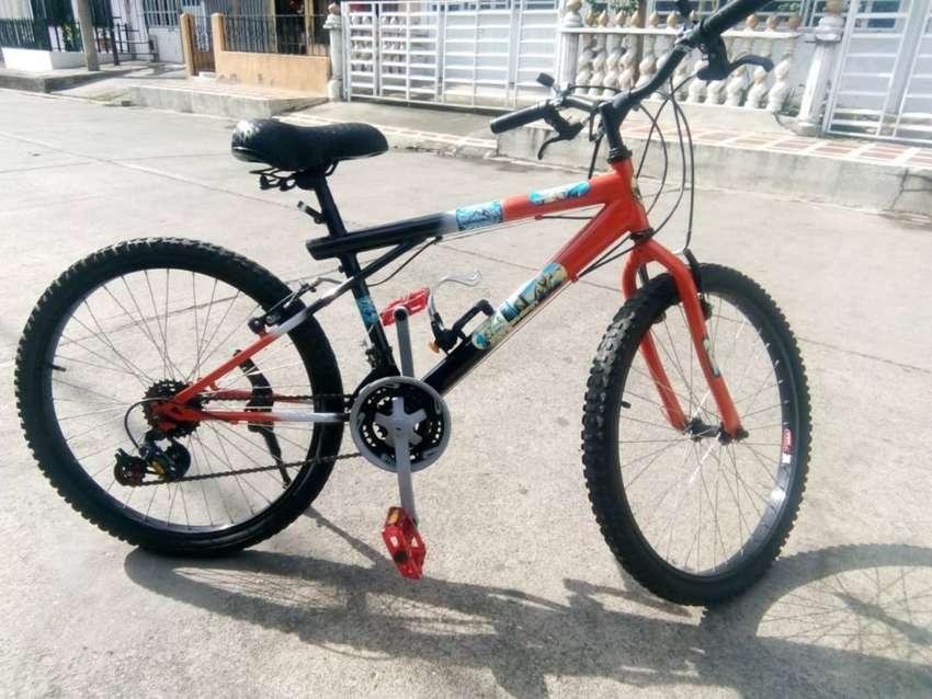 Bicicleta Rin 24 en buen estado con factura de compra 0