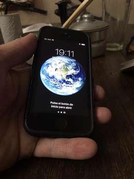 Iphone 5s 16gb libre defabrica se le cambio el modulo y el boton home