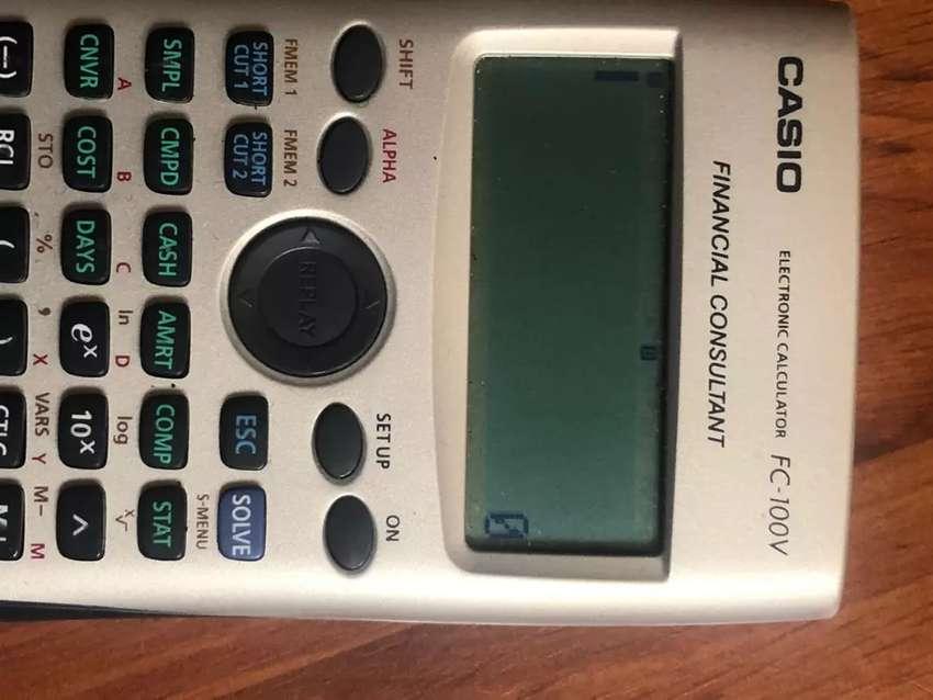 Calculadora casio FC-100V electronic 0