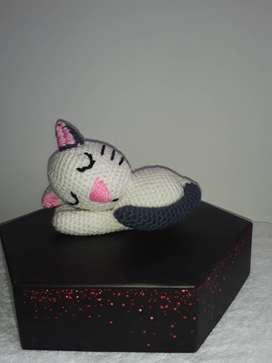Muñeco Gato Dormilón