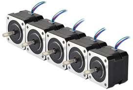 5 x Nema 17 0.4a 12v  Motor Paso A Paso Cnc Impresora 3d Arduino