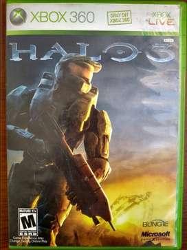 Halo 3 con poster y manual