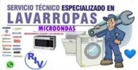 RIV Servicio Técnico especializado en lavarropas y microondas. Atención en Zona Oeste, Zona Norte y CABA