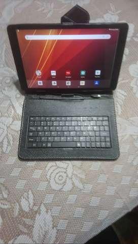 Tablet Tcl Lt10 Prime Black Más Funda Con Teclado