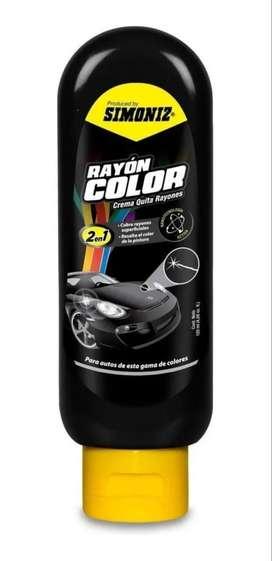 Crema Quita Rayones Brilla Pintura Rayon A Color 120ml