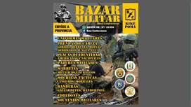Vendedora con experiencia en bazar militar