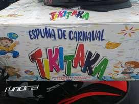 Carioka espuma de Carnaval