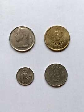 Belgica lote monedas