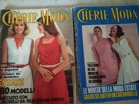 Revista c/u Cherie Moldes primav verano 1970/ 74