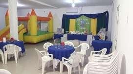 salón de fiestas tejo pool plaza blanda...