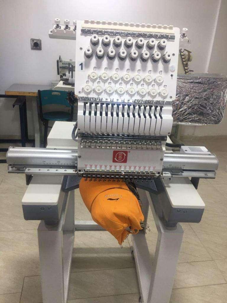 Maquina Bordadora Industrial Marca Bs De un Cabezote Nueva 0