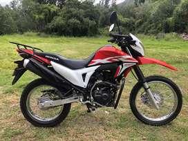 Moto Honda XR 190