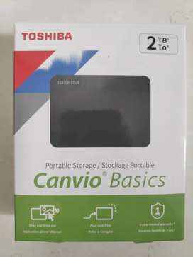 Disco duro Toshiba Canvio Basics 2Tb
