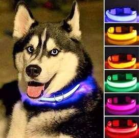 Collares LED luminosos para mascotas