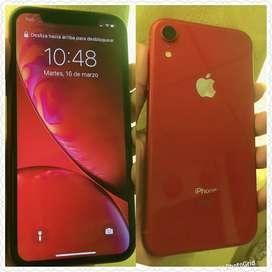Iphone xr red 64gb como nuevo único dueño