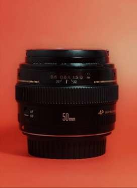 Lente Canon 50mm f1.4