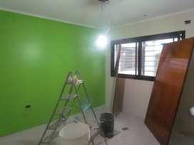 Trabajos de pintura y construcción