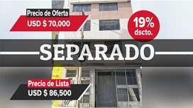 Entidad Financiera Remata Departamento Flat en tercer piso en zona residencial comercial - Huanuco - Cod. 00797