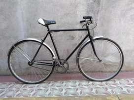 Bicicleta antigua de competencia