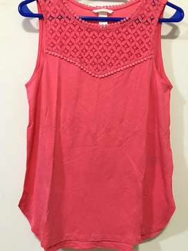 Musculosa HyM talle S muy amplio