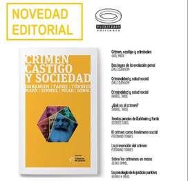 Varios Autores. Crimen, castigo y sociedad (Pluriverso Ediciones))