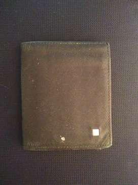 Vendo billetera cuero Mario Hernández usada