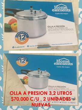 VENDO OLLA A PRESION DE 3LT