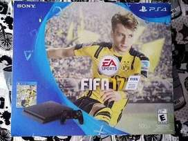 PS4 SLIM FIFA 17 - BUEN ESTADO - 10/10