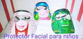 Protector facial en 3D