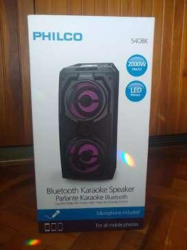 Parlante Philco Bluetooth & Karaoke
