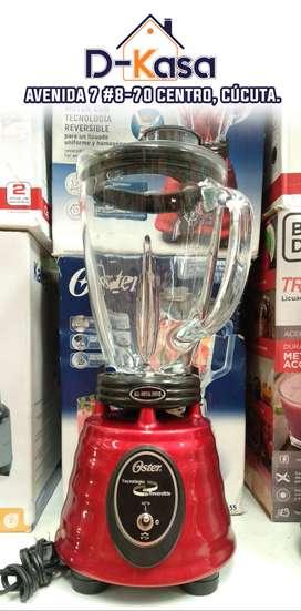 Licuadora OSTER Reversible | Vaso de Vidrio | 1.25 Litros | 3 velocidades | ► ENVIÓ GRATIS ◄