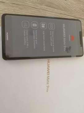 Huawei mate 9 lite 32/3 huella,doble cámara trasera,en caja con cargador,libre