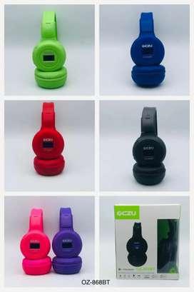 Diademas Bluetooth recargable con pantalla LED
