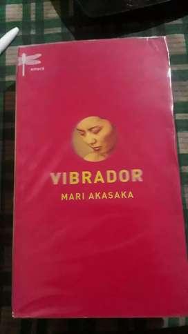 VIBRADOR (libro usado)