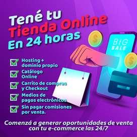 Tenda Online E-commerce para emprendedores