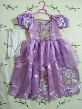Disfraz de princesa Sofia