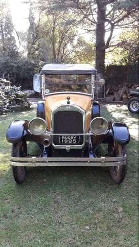 RUGBY 1925 - TOTALMENTE ORIGINAL