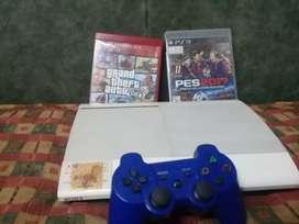 PS3 SUPER SLIM 500 GO