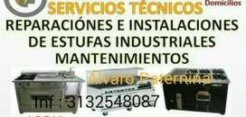Tecnicos de Estufas Industriales