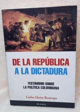 De la republica a la dictadura