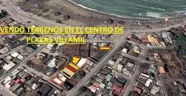 Venta de terreno en centro de Playas Villamil, CERCA DE MALECON REGENERADO