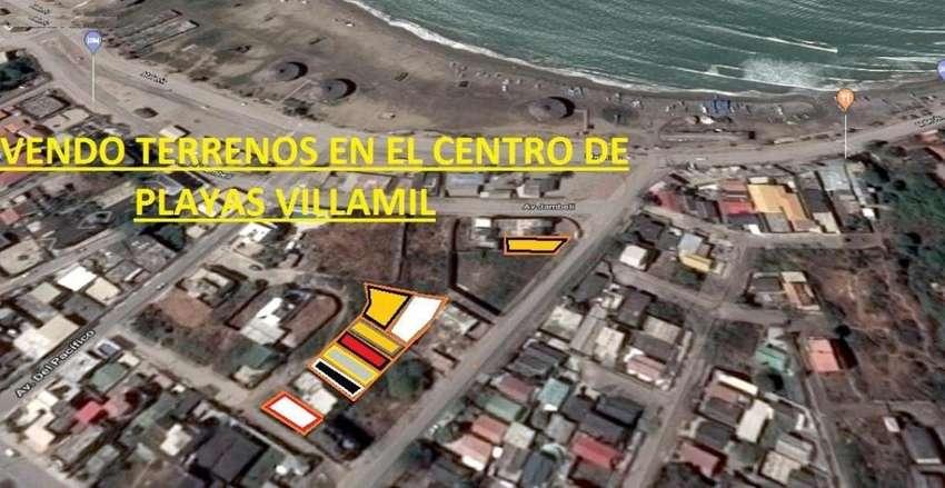 Venta de terreno en centro de Playas Villamil, CERCA DE MALECON REGENERADO 0