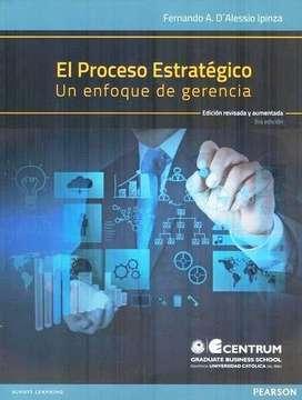El Proceso Estrategico. Un Enfoque De Gerencia 3ed.