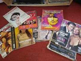 Colección de revistas rolling stones