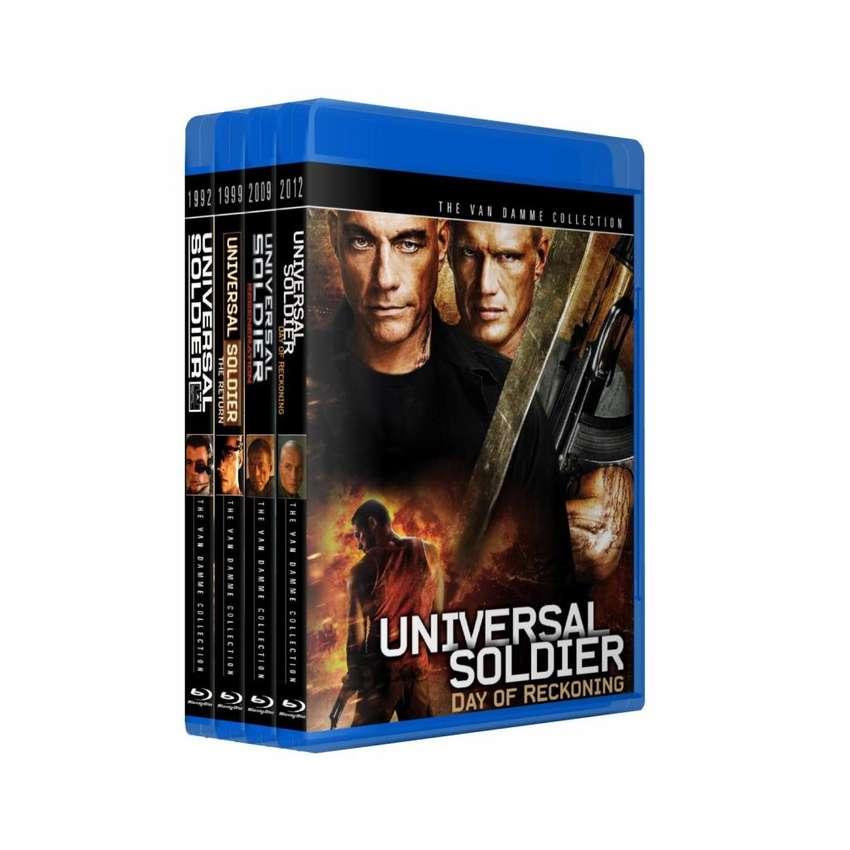 Soldado Universal Soldier Saga Bluray Colección 4 Peliculas 0