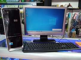 Computador de escritorio corporativo listo para trabajo pesado o estudio 500gb y 4gb RAM