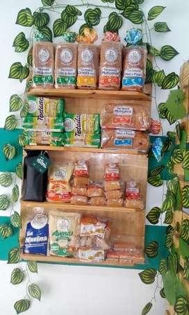 Venta montaje y productos de tienda naturista