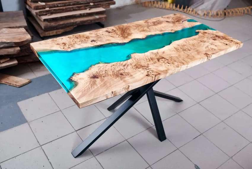 Mesas en resina