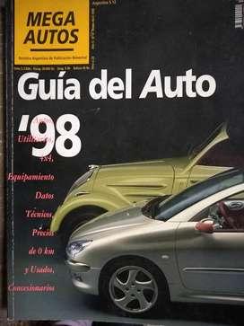 guia auto 98  de coleccion   perfecta coleccion